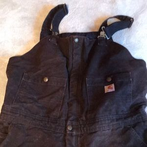 Insulated Carhartt Duck Bibs Overalls